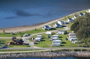 Overnatting Osen fjordcamping telt